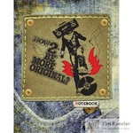 Тетрадь общая Джинсовый рок-н-ролл А5 48 листов в клетку на скрепке (обложка в ассортименте)
