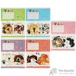 Тетрадь школьная Альт Домашние любимцы А5 12 листов в клетку (обложка в ассортименте)