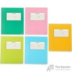 Тетрадь школьная Проф-пресс Классическая А5 18 листов в линейку (обложка в ассортименте)