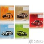 Тетрадь школьная Альт Машины А5 12 листов в клетку (обложка в ассортименте)