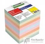 Блок для записей СТАММ, цветной, 9x9x9 см