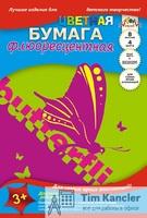 Бумага цветная АППЛИКА, флюоресцентная, А4, 4 цвета, 8 листов, ассорти