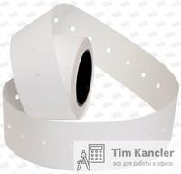 Этикет-лента OPEN DATA белая, прямая, 21x12x1000 мм