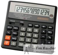 Калькулятор CITIZEN SDC-640II, настольный, 14-разрядный