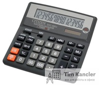 Калькулятор CITIZEN SDC-660II, настольный, 16-разрядный