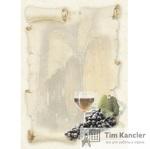 Дизайн-бумага DECADRY Винный погреб, A4, 1 лист