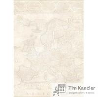 Дизайн-бумага DECADRY Старинная карта, A4, 1 лист
