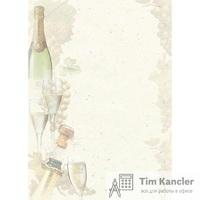 Дизайн-бумага DECADRY Ковер из роз, A4, 1 лист