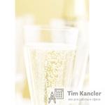 Дизайн-бумага DECADRY Бокал шампанского, A4, 1 лист